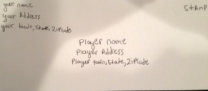 Player Envelope